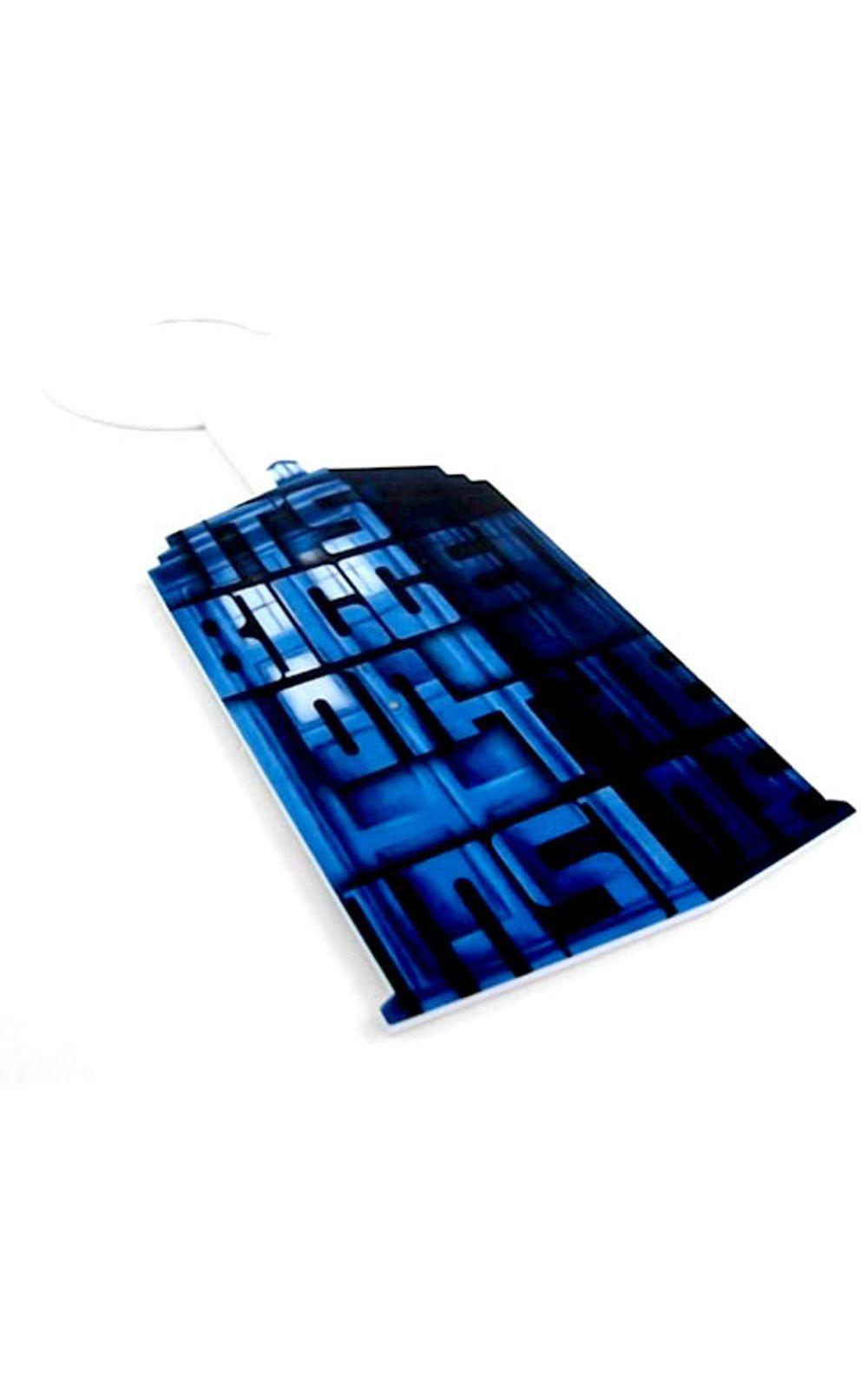 Foto 2 - Aviso de Porta Cabine Doctor Who