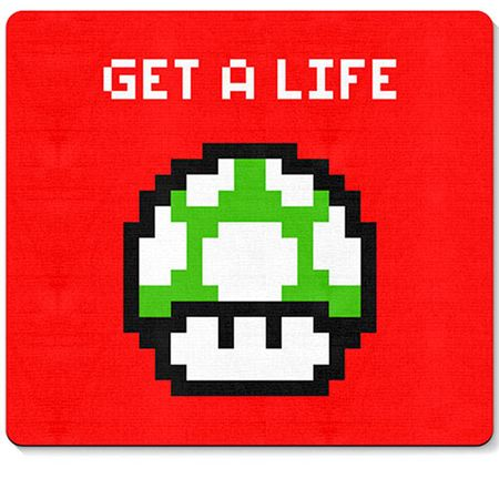 Mouse pad Cogumelo Pixel Get a Life