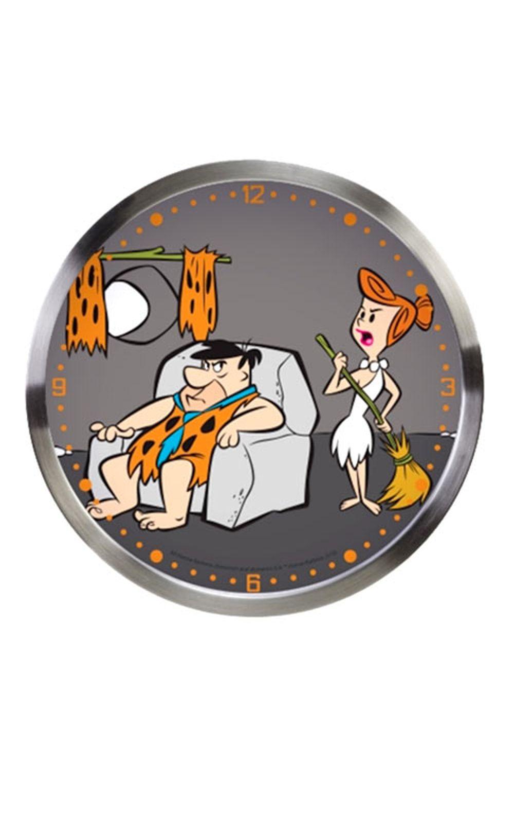 Foto 1 - Relogio de Parede Vilma e Fred Flintstones