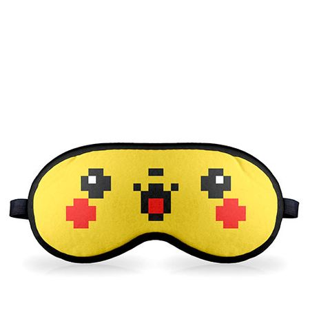 Mascara de Dormir Pokemon Pikachu