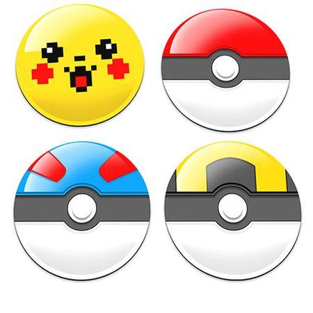 Porta Copos Pokemon Pokebola e Pikachu