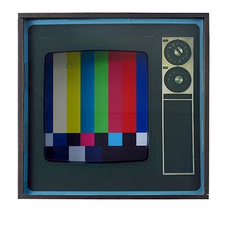 Quadro Porta Objetos TV Vintage