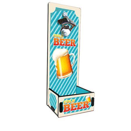 Abridor de Garrafa Grande Cerveja Gelada Cold Beer