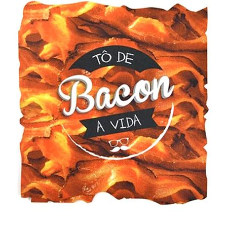 Mouse Pad Bacon Formato