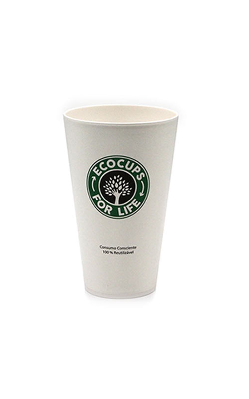 Foto 1 - Copo Plastico com Tampa Starbucks Cafe