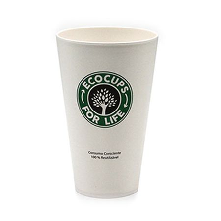 Copo Plastico com Tampa Starbucks Cafe