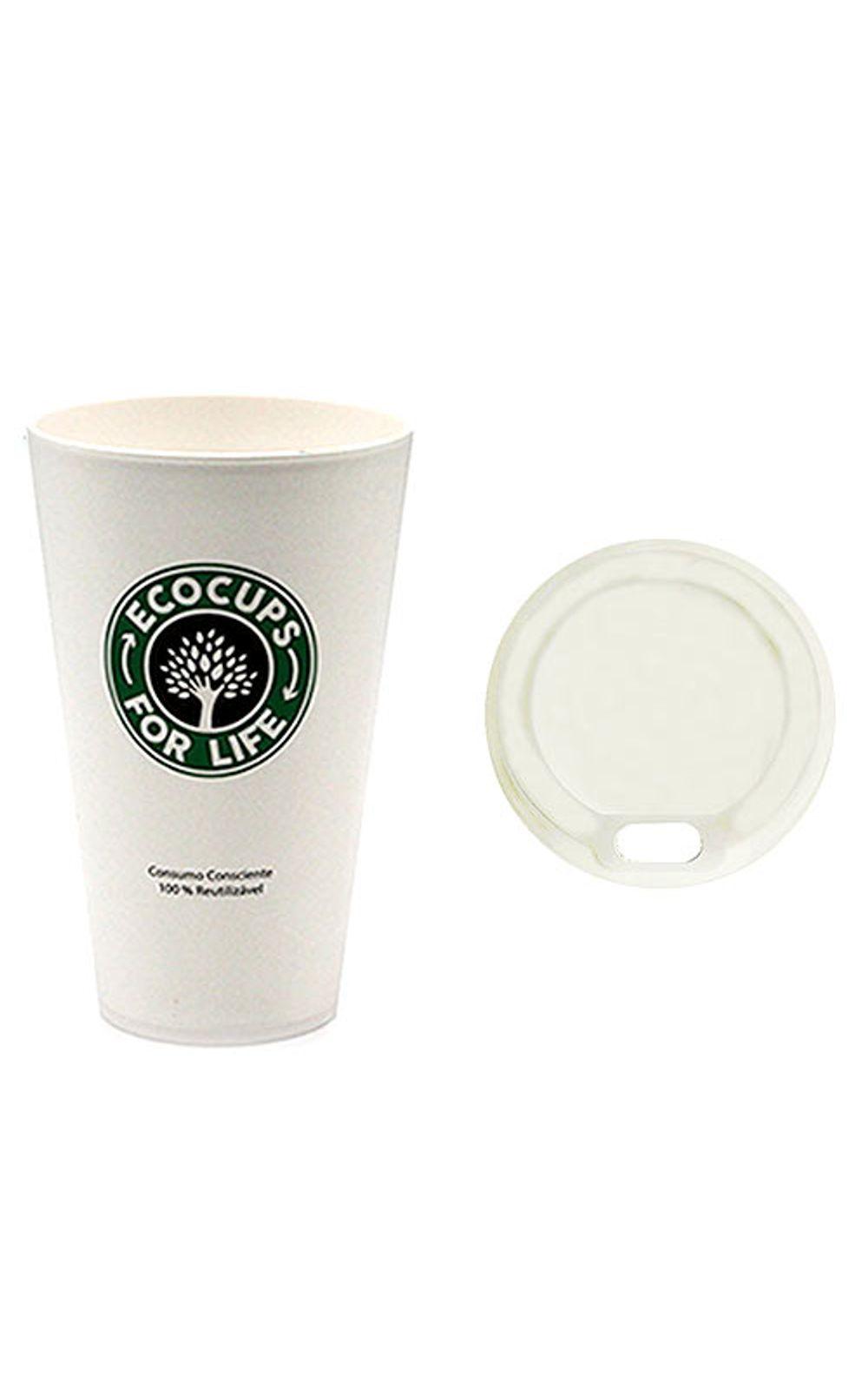 Foto 2 - Copo Plastico com Tampa Starbucks Cafe