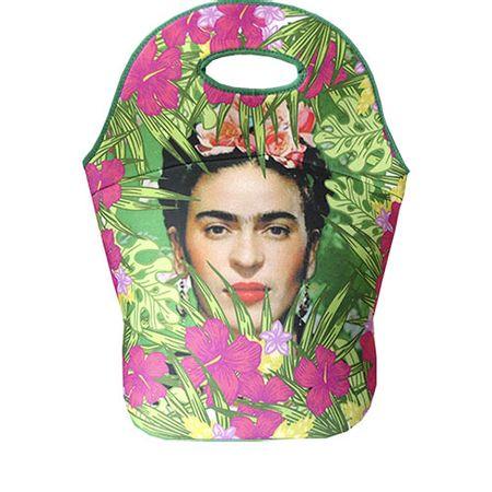 Lancheira Frida Kahlo Floral