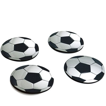 Porta Copos Bola de Futebol Formato