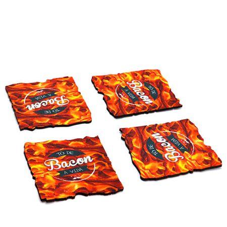 Porta Copos Bacon Formato