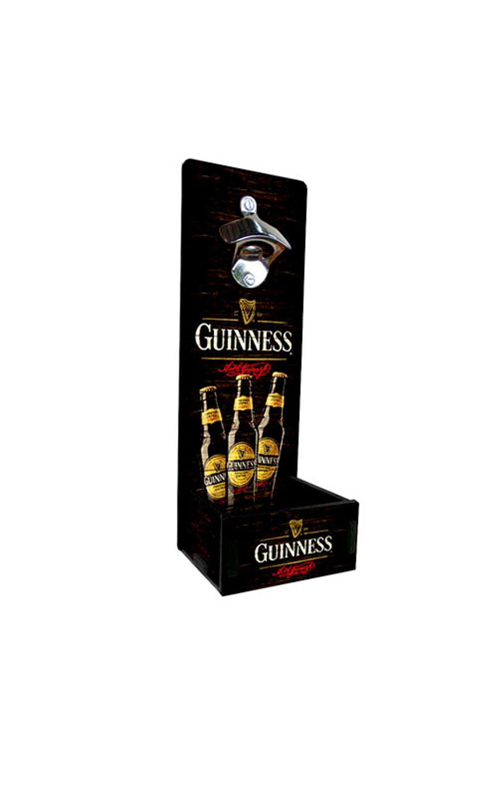 Foto 1 - Abridor de Garrafa Grande Cerveja Guinness