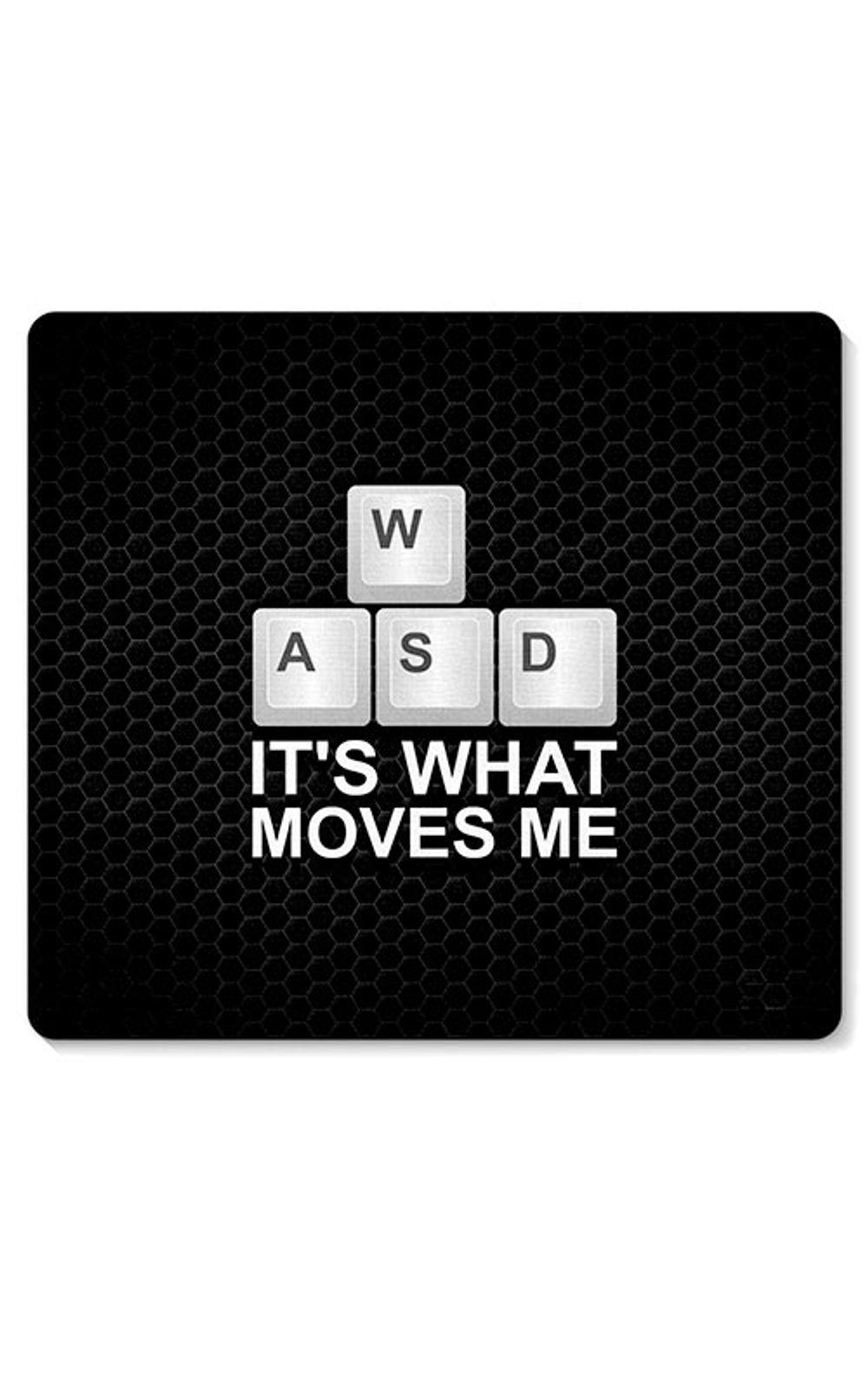Foto 1 - Mouse Pad Joystick PC Computador WASD Its What Moves Me