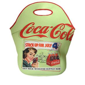Lancheira Coca-Cola Pin Up Vintage