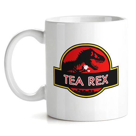 Caneca Dinossauro Tea Rex Tiranossauro