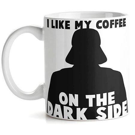 Caneca Darth Vader Star Wars Eu Amo meu Cafe