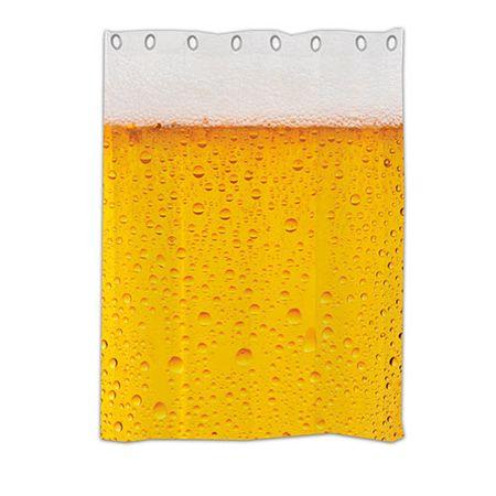 Cortina para box de Banheiro Cerveja