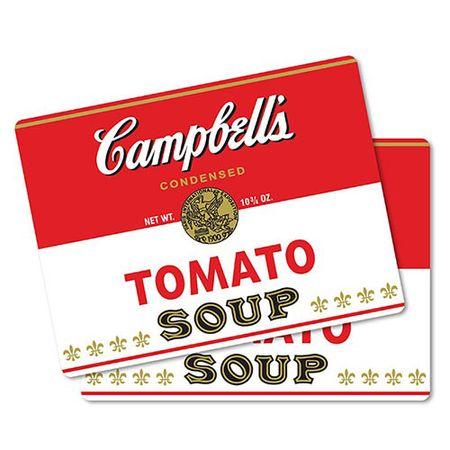 Jogo Americano Sopa de Tomate Vintage - 2 pecas