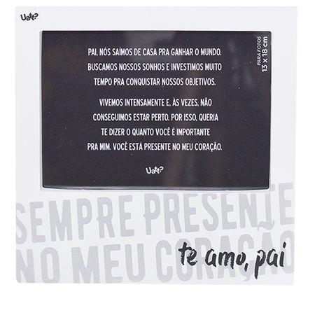 Porta Retrato Pai, Amor Sempre Presente 10x15
