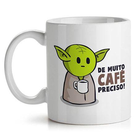 Caneca Mestre Yoda Café voce deve Beber Star Wars