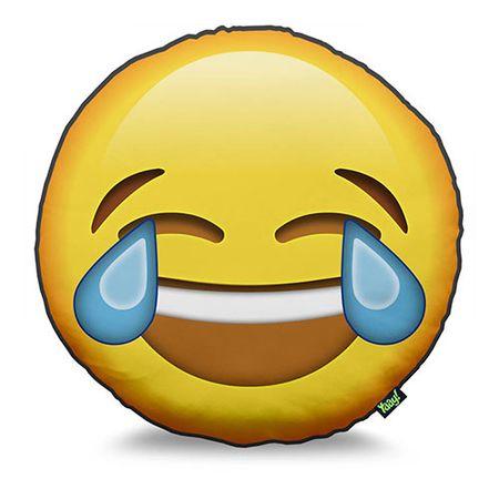 Almofada Emoji Chorando de Rir Emoticon
