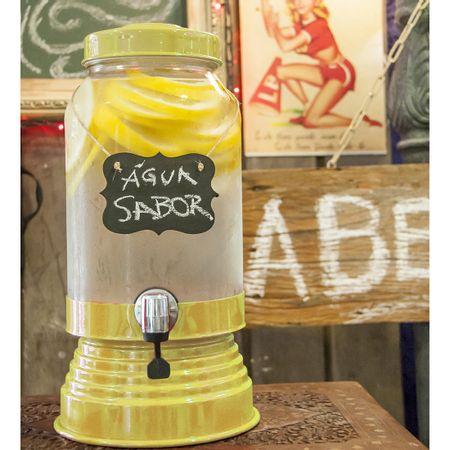 Suqueira de Vidro 3,2 litros Amarela