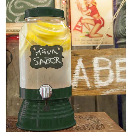 Suqueira de Vidro 3,2 litros Verde Escura