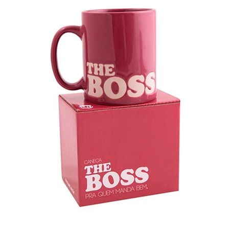 Caneca The Boss Pink Rosa