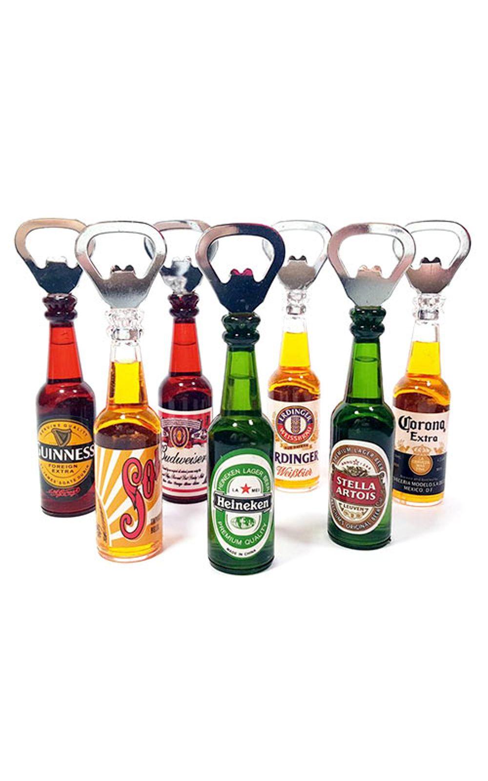 Foto 2 - Abridor de Garrafa Cerveja Budweiser com Ima