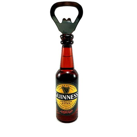 Abridor de Garrafa Cerveja Guinness com Ima