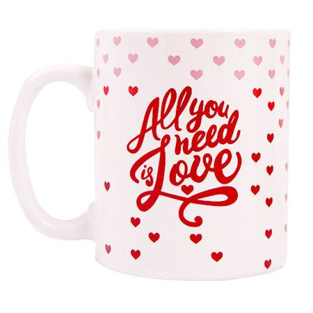 Caneca All you Need is Love Amor