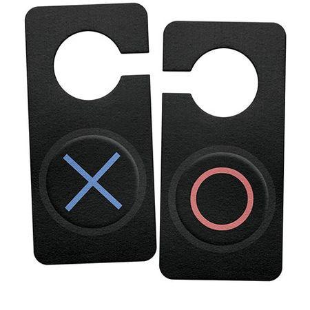 Aviso de Porta Ecologico Joystick Playstation