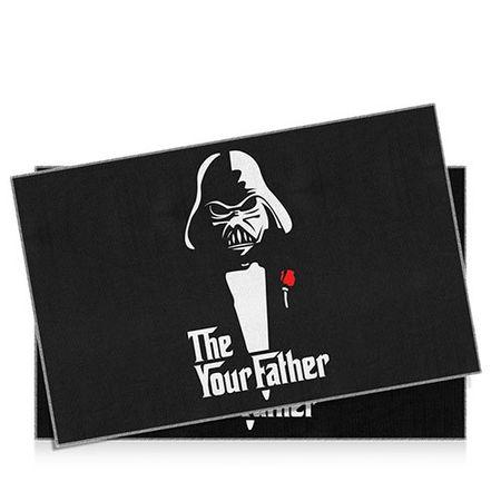 Jogo Americano Darth Vader Poderoso Chefao Star Wars - 2 pecas