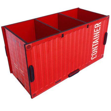 Porta Lapis e Controle Remoto Container