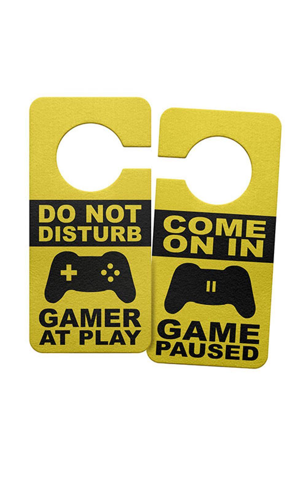 Foto 1 - Aviso de Porta Ecologico Gamer at Play Joystick