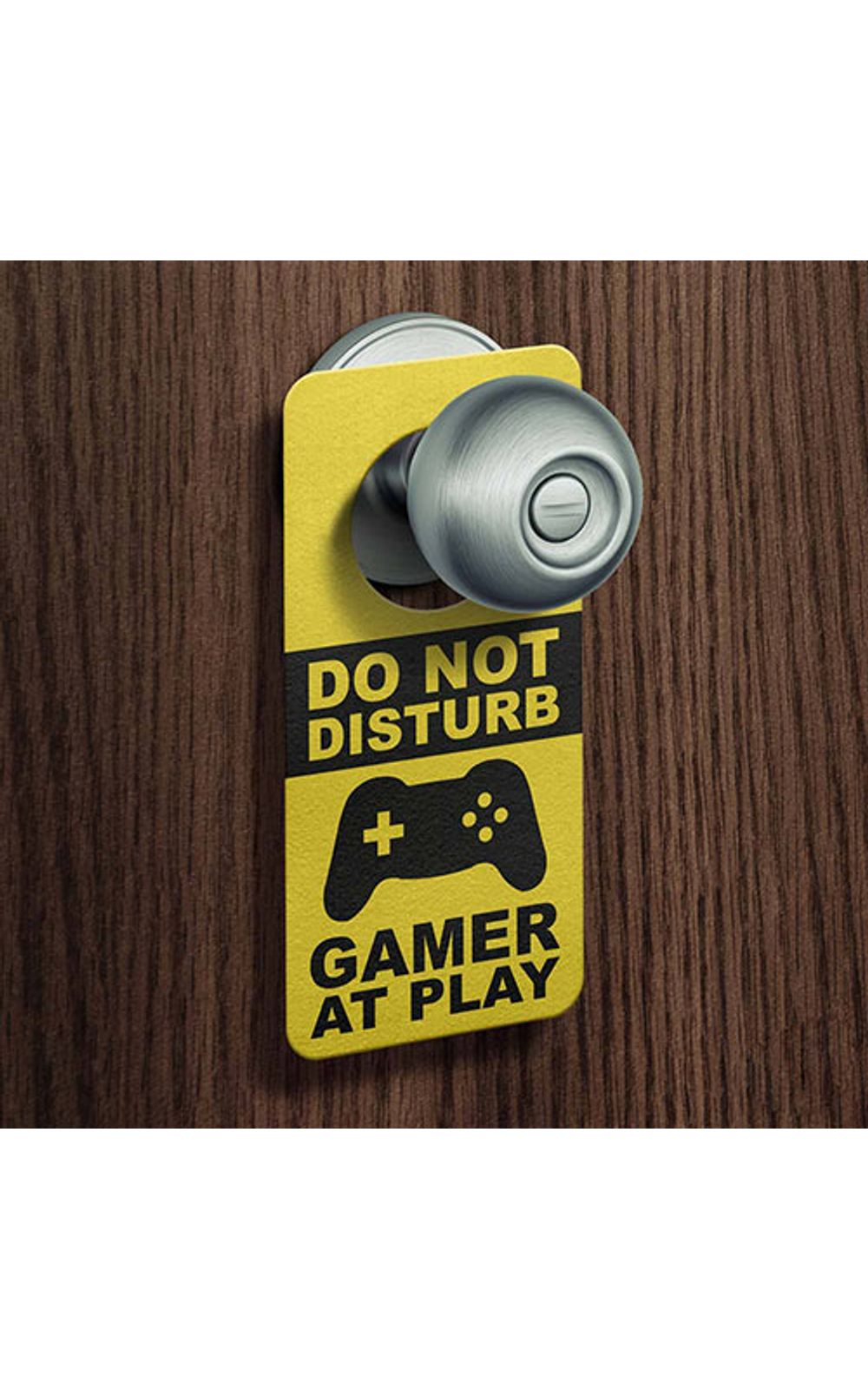 Foto 2 - Aviso de Porta Ecologico Gamer at Play Joystick