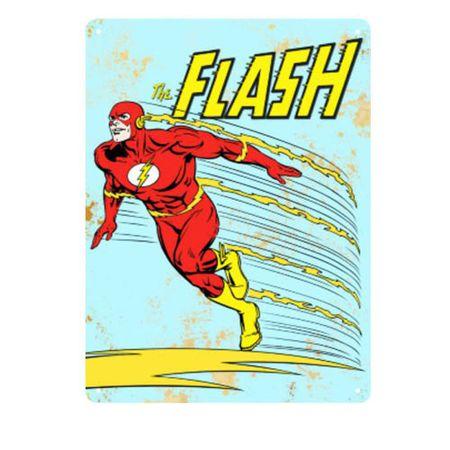 Placa Decorativa em MDF Flash DC Comics