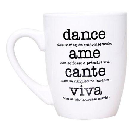 Caneca Dance Ame Cante Viva