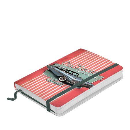Caderno de Anotação com Elástico Carro Vintage Car Service GM