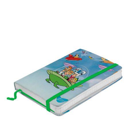Caderno de Anotação com Elástico Familia no Spa os Jetsons Hanna Barbera