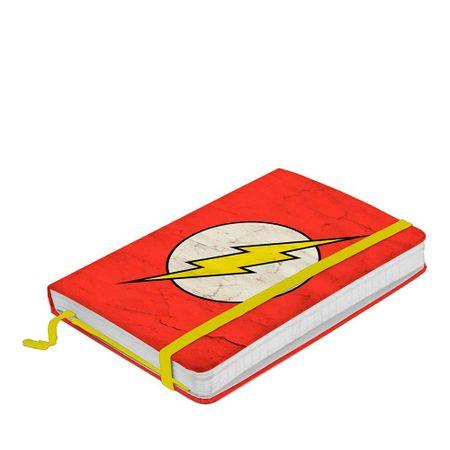 Caderno de Anotação com Elástico The Flash DC Comics