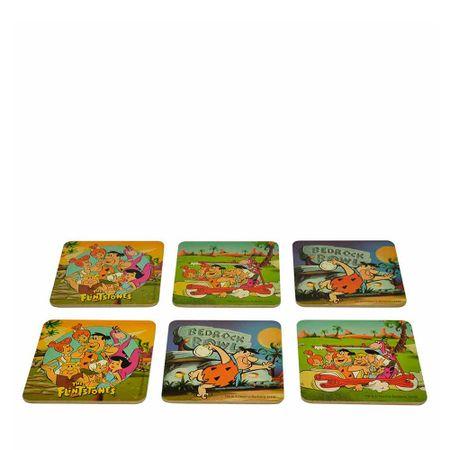 Porta Copos Os Flinstones Hanna Barbera - 6 Unidades