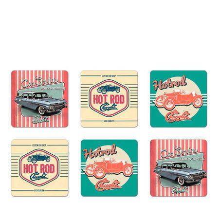 Porta Copos Hotroad GM Chevrolet - 6 Unidades