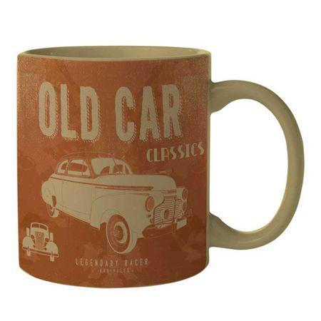 Caneca Carro Vintage Old Car Marrom GM Chevrolet