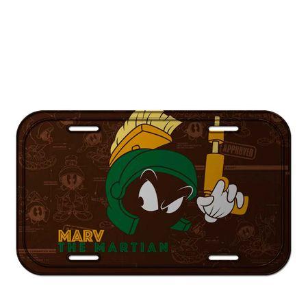 Placa Decorativa de Metal Marvin Looney Tunes