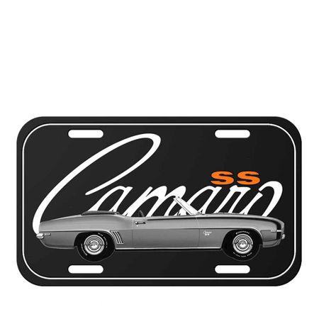 Placa de Metal Carro Camaro Vintage GM Chevrolet