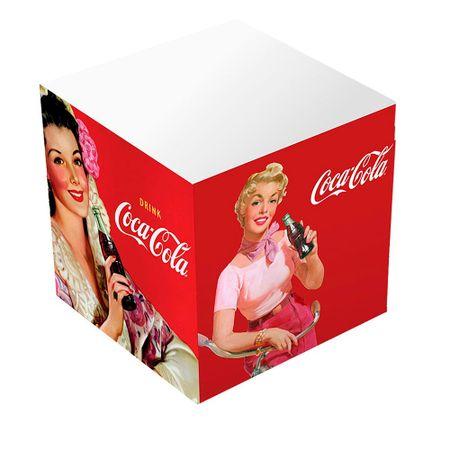 Caderno de Anotacoes Coca Cola Vintage Vermelho