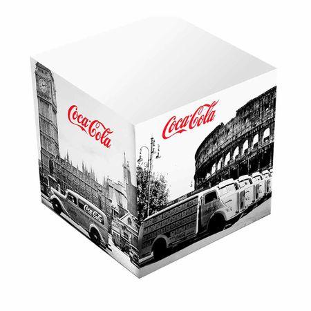Carderno de Anotacoes Coca Cola Vintage Preto e Branco