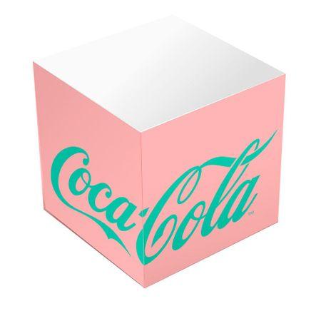 Caderno de Anotacoes Coca Cola Vintage Rosa