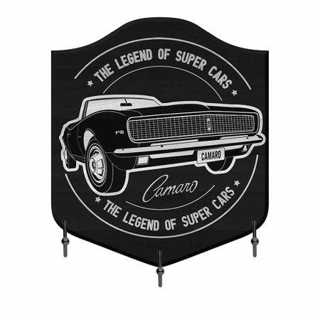 Cabideiro de Madeira Camaro GM Chevrolet