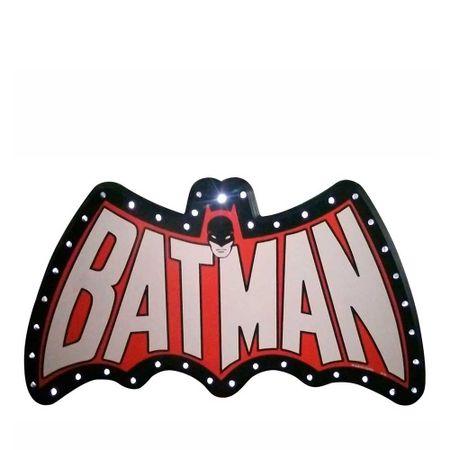 Luminária MDF Led Batman Dc Comics Batman